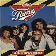 Click here for more info about 'The Kids From Fame - Xmas '82/83 Tour Programme With Poster'