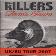 Click here for more info about 'The Killers (Rock) - 2007 UK / EU Tour Itinerary'