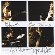Click here for more info about 'The Killers - Autographed Publicity Photograph'