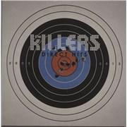 The Killers Direct Hits UK 2-LP vinyl set