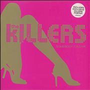 "The Killers Somebody Told Me - Pink Vinyl + Poster UK 7"" vinyl"