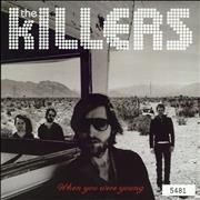 "The Killers When You Were Young UK 7"" vinyl"
