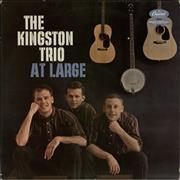 The Kingston Trio At Large UK vinyl LP