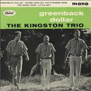 Click here for more info about 'The Kingston Trio - Greenback Dollar'