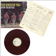 Click here for more info about 'The Kingston Trio - New Frontier - Test Pressing'