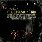 The Kingston Trio The Best Of The Kingston Trio USA vinyl LP