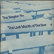 The Kingston Trio The Last Month Of The Year UK vinyl LP