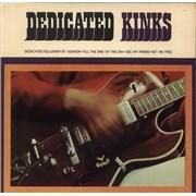 "The Kinks Dedicated Kinks EP UK 7"" vinyl"