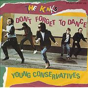 """The Kinks Don't Forget To Dance Germany 7"""" vinyl"""