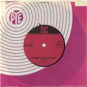 """The Kinks Ev'rybody's Gonna Be Happy - Solid UK 7"""" vinyl"""