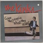 Click here for more info about 'The Kinks - Give The People What They Want - Deletion hole'