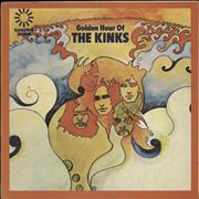 Click here for more info about 'The Kinks - Golden Hour Of The Kinks - 1st - Brown/Red fleck'