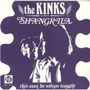 "The Kinks Shangrila + Sleeve - EX Netherlands 7"" vinyl"
