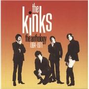 The Kinks The Anthology 1964-1971 UK cd album box set