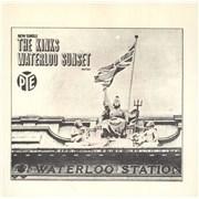 "The Kinks Waterloo Sunset - 3prong + Sleeve Norway 7"" vinyl"
