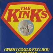 Click here for more info about 'The Kinks - (Wish I Could Fly Like) Superman - Sealed'