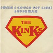 Click here for more info about 'The Kinks - (Wish I Could Fly Like) Superman'