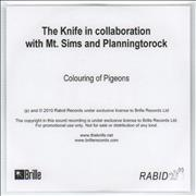 Click here for more info about 'The Knife - Colouring Of Pigeons'