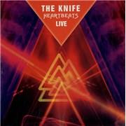 The Knife Heartbeats - Live UK CD single Promo