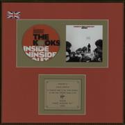 Click here for more info about 'The Kooks - Inside In/Inside Out - Gold Award'