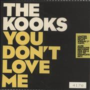Click here for more info about 'The Kooks - You Don't Love Me - Sealed'