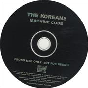 Click here for more info about 'The Koreans - Machine Code'