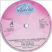 Click here for more info about 'The Korgis - Everybody's Got To Learn Sometime - Solid'