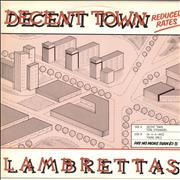 Click here for more info about 'The Lambrettas - Decent Town'
