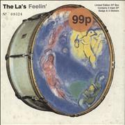 Click here for more info about 'The La's - Feelin' - No Badge'