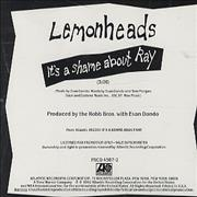 Click here for more info about 'The Lemonheads - It's A Shame About Ray'