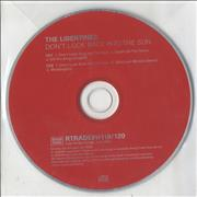 Click here for more info about 'The Libertines - Don't Look Back Into The Sun'