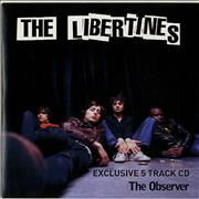 Click here for more info about 'The Libertines - Exclusive 5 Track CD'