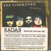 Click here for more info about 'The Libertines - Time For Heroes: The Best Of The Libertines'