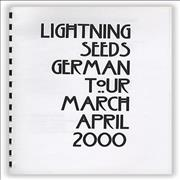 Click here for more info about 'The Lightning Seeds - 2000 Tour'