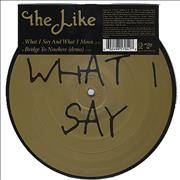Click here for more info about 'The Like - What I Say And What I Mean'