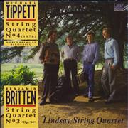 Click here for more info about 'The Lindsay String Quartet - Tippett: String Quartet No. 4 / Britten: String Quartet No. 3'