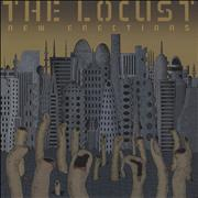 Click here for more info about 'The Locust - New Erections - Clear Red & Black Splatter Vinyl'