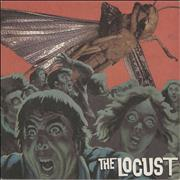 Click here for more info about 'The Locust - The Locust - Green With Brown Swirl Vinyl'