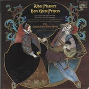 Click here for more info about 'The London Early Music Group - What Pleasure Have Great Princes: Sacred And Secular Favorites From The Court Of Elizabeth I'