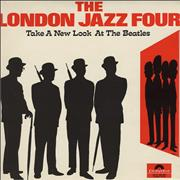 The London Jazz Four Take A New Look At The Beatles - 1st UK vinyl LP