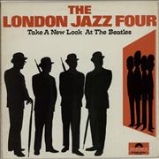 The London Jazz Four Take A New Look At The Beatles - 2nd - VG UK vinyl LP