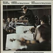 Click here for more info about 'The London Philharmonic Orchestra - McCabe: Symphony / Leighton: Concerto For String Orch. / Cruft: Divertimento For String Orch.'