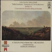 Click here for more info about 'The London Philharmonic Orchestra - Tallis Fantasia & Fantasia On Greensleeves / Concerto For Double String Orchestra'