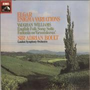 Click here for more info about 'The London Symphony Orchestra - Elgar: Enigma Variations / Vaughan Williams: English Folk Song Suite / Fantasia On Greensleeves'