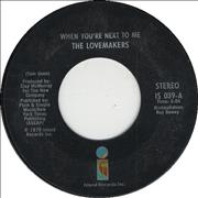 Click here for more info about 'The Lovemakers - When You're Next To Me'