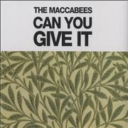 Click here for more info about 'The Maccabees - Can You Give It'