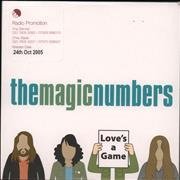 Click here for more info about 'The Magic Numbers - Love's A Game'