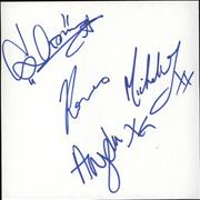 Click here for more info about 'The Magic Numbers - Set of Autographs'