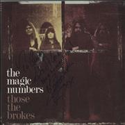 Click here for more info about 'The Magic Numbers - Those The Brokes - Autographed'