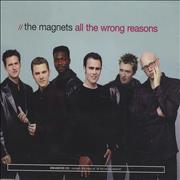 Click here for more info about 'The Magnets - All The Wrong Reasons'